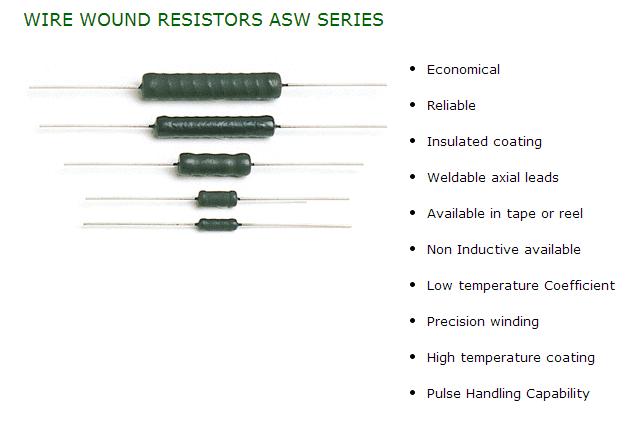 ASW sereies resistor