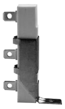vertical mount power resistor