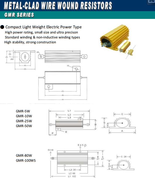 metal clad resistor datasheet 1
